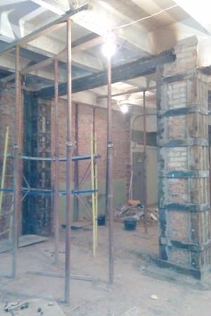 Усиление кирпичных стен - компания Миллениум